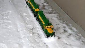 SnowVid-19:  Big Model Trains In The Snow!
