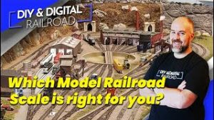 Choosing a Model Railroad Scale: Coffee and Trains Episode 8