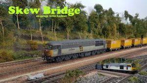 18 – SKEW BRIDGE – OO gauge Model Railway – Spring Freight