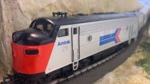 Amtrak model trains ho scale | Model Train #shorts