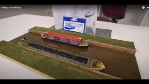 Modelling a canal boat for your model railway
