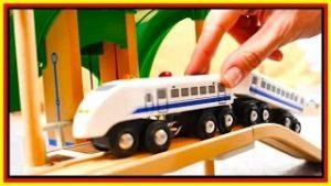 BRIO Toys BRIDGE DESTRUCTION! – Toy Cars & Trains Demo – Learn High & Low – Videos for kids