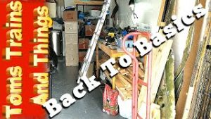 Back To Basics – Building A Model Railroad – Prepping The Train Room