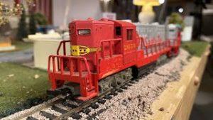 Running Classic Model Trains Live