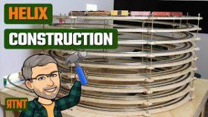 Model Railroad Helix Construction