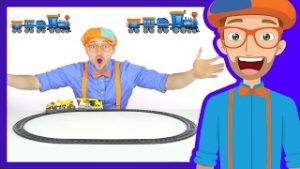 Trains for Children by Blippi | The Train Song
