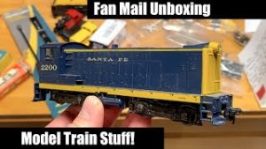 Model Train Fan Mail Unboxing – Loco, Miniature figures and More!