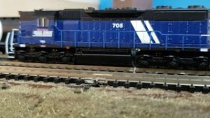 MODEL TRAINS My N Scale Montana Rail Link Locomotives
