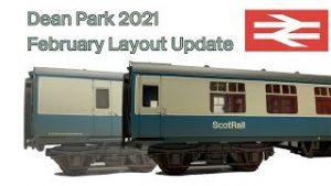 Model Railway | February 2021 Layout Update | Dean Park 271