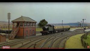 Superb Stoke Courtenay model railway layout in OO gauge