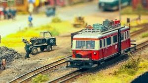 """MODEL RAILROAD RAILWAY SIZE HOe SCALE 1:87 """"Schmalspurig durchs Reichsbahnland"""""""