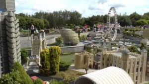 Lego model trains & places at Legoland Windsor's Miniland