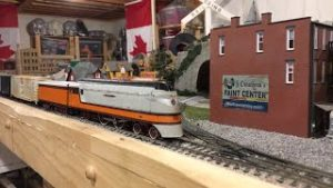 Running Ho Model Trains Live