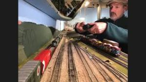 Burr Stewart on shooting & editing model train videos for Eastside Clinic of 4DPNR 18 Mar 2021