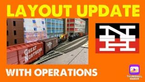 Model Railroad Layout Design Update – With Operations