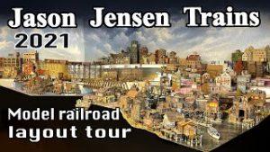 Model railroad layout tour!