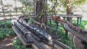 MIle Long Steam Train   Official Run