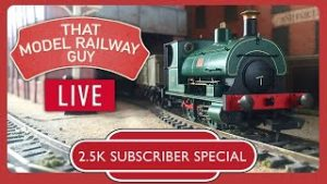 2.5K Subscriber Special – LET'S TRY THAT AGAIN! ? – LIVE Model Railway Running Session!