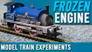 What Happens When You Freeze An Engine? | Model Train Experiments