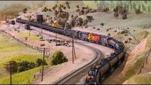 Southern Pacific Tank Train (Oil Cans) – La Mesa Model Railroad Club