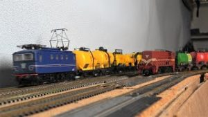 HO scale Fleischmann and Roco German and Dutch model trains, modeltreintjes, Modellzüge