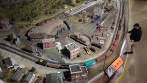 Entertrainment Junctions 25,000 square foot G Gauge Model Railroad