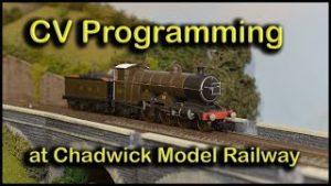 Programming CVs including CV29 at Chadwick Model Railway | 131.