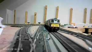 Perth South Model Railway, #14 Track Cam & some Outtakes for Christmas