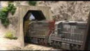 Model Railroad Vol 1: Full train runby 6