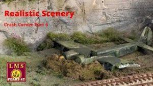 Building a Model Railway | Realistic Scenery | Crash Corner Part 6