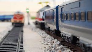 Toy Train Shatabdi Express Of Indian Railway Chasing Shan E Punjab Express  Centy Toy Train