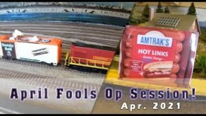 Ops Session April Fools 2021 – Silly Model Trains