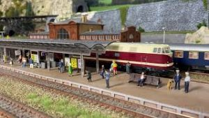 Model Trains and Faller Miniature Cars – Enjoy Steam Locos and Diesel Locomotives – HO Scale Layout