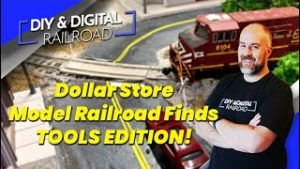 Dollar Store Model Railroad Finds Episode 17: Dollar Store Tools!!!