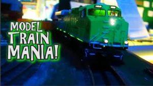 MODEL TRAIN MANIA! – Loads of Model Trains!
