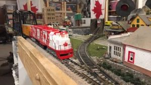 Running Model Trains Live