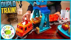 LEGO DUPLO CARGO TRAIN! Fun Toy Trains !
