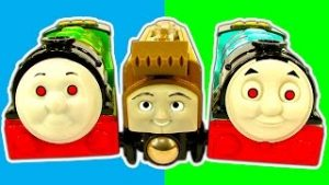 Cheap Toy Trains Vs Thomas The Tank Trackmaster Hill Climb & Thomas Face Lift
