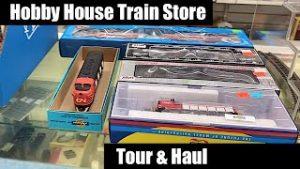 Hobby House (HO & N) Model Train Store – Tour & Haul