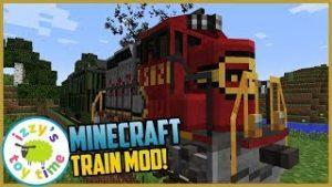 Minecraft TRAIN MOD! Izzy's Toy Time Fun Toy Trains
