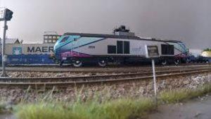 Video 88 / 14 second stay alive. Large 40ft loft layout OO gauge model railway