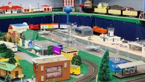 Lionel O Scale Train Layout at the Mississippi Coast Model Railroad Museum