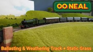 Weathering & Ballasting Model Railway Track + Static grass Building Up A Model Railway S2 E16
