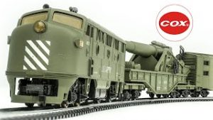 Vintage COX HO-Scale U.S. Army Model Train Set and Mehano Track Pack Review