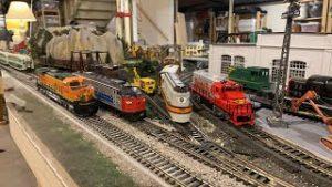 Running Various Ho Model Trains Live