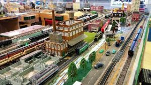 HO Scale Train Layout at the Mississippi Coast Model Railroad Museum