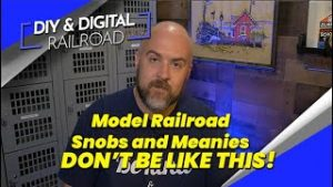 Model Railroad Snobs and Meanies, and how not to be one: Coffee and Trains Episode 14