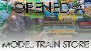I Opened a Model Train Store