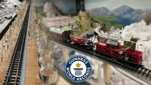Model Train Plays Music – Guinness World Records