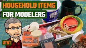 10 Common Household Items I Use in Model Railroading
